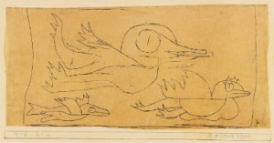 Reisende Vögel by Paul KLEE