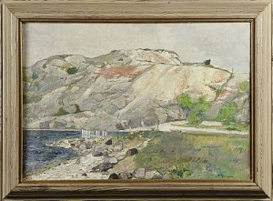 Kustlandskap by Reinhold LJUNGGREN