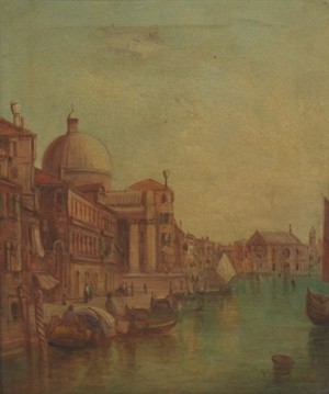 The Grand Canal by Alfred POLLENTINE