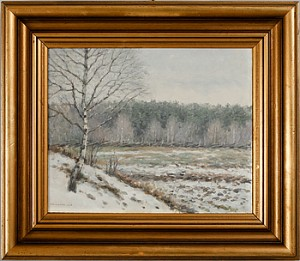 Vinterlandskap by Per SUNDBERG