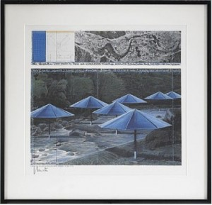 The Umbrellas (joint Project For Japan And Usa) by Christo JAVACHEFF