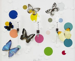 Happiness by Damien HIRST