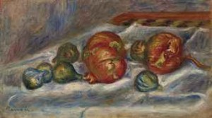 Nature Morte Aux Grenades Et Figues by Pierre Auguste RENOIR
