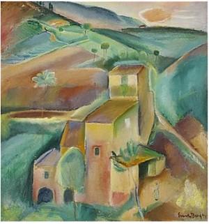 Italienskt Landskap - Toscana by Svante BERGH