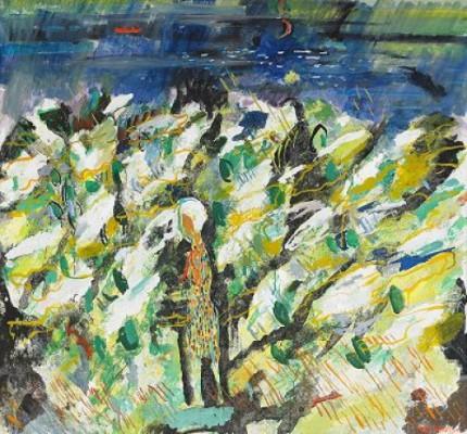 Blommande Hägg by Sven 'X:et' ERIXSON