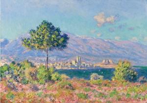 Antibes, Vue Du Plateau Notre-dame by Claude MONET