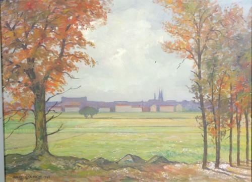 Vy Mot Uppsala by Jonas LINDKVIST