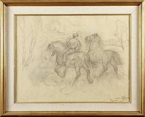 Man Med Hästar by Acke ÅSLUND