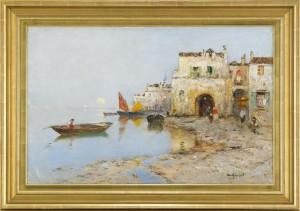 Afton I Venedig by Wilhelm Von GEGERFELT