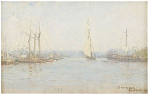 Vy över Saltsjön by Fanny Maria KLINGBOM