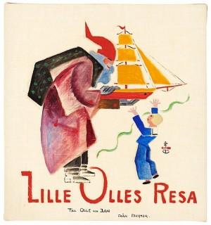 (12) Lille Olles Resa by Gösta 'Gan' ADRIAN-NILSSON