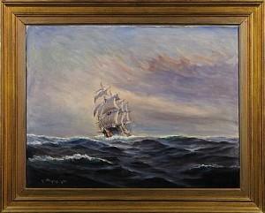 Fartygsporträtt by Alexander WILHELMS