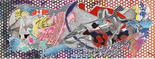 Calvinia, Screenprint, Lithograph, Etching, Aquatint, Engraving And Relief In Colours On Handmade Paper by Frank STELLA