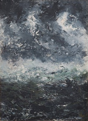 Storm Landscape by August STRINDBERG