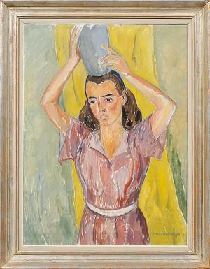 Porträtt Av Kvinna by Carsten HVISTENDAHL