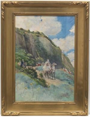 Scene Oriental by Georges Jules Victor CLAIRIN