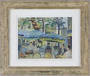 Café I Paris by John Gunnar 'Haavs-Johnson' JOHNSON