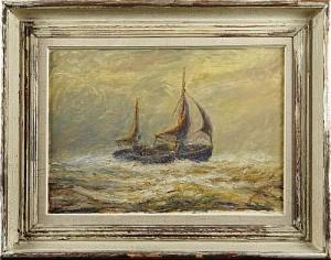 Segelbåt by Gerhard ALBE