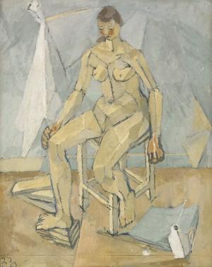 Modell - Birgit Broms by Ragnar SANDBERG