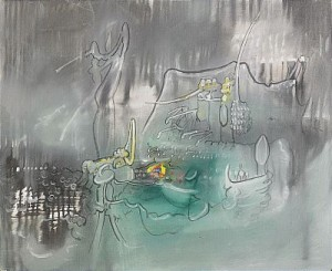 Composition Ii by Roberto MATTA