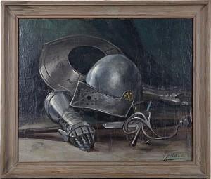 Vapenstilleben by Arthur HEICKELL