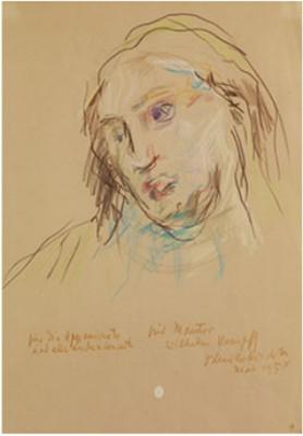 Frauenbildnis by Oskar KOKOSCHKA