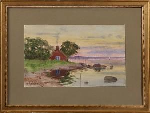 Kustvy by Hjalmar FALK
