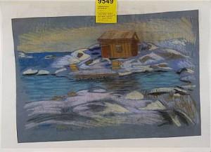 Vintermotiv Från Nasen by Roland SVENSSON