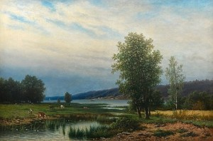 Summer Landscape by Teodor BILLING