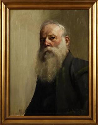 Mansporträtt by Bror HILLGREN
