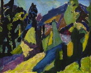 Skog by Lennart RODHE