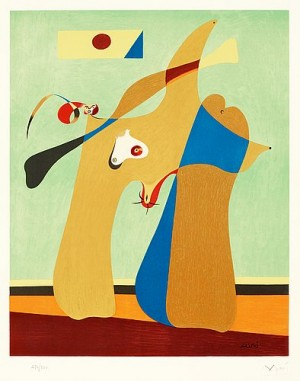 Une Femme by Joan MIRO