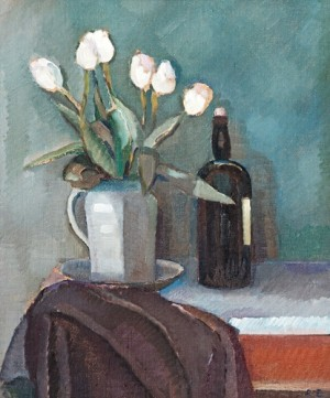 Still Life With Tulips by Ragnar EKELUND