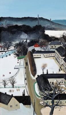 Karlbergs Slott I Vinterskrud by Lars BOETHIUS