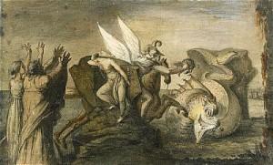 Perseus Och Andromeda by Carl August EHRENSVÄRD
