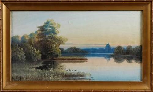 Landskap by Alfred WETTERSTRÖM
