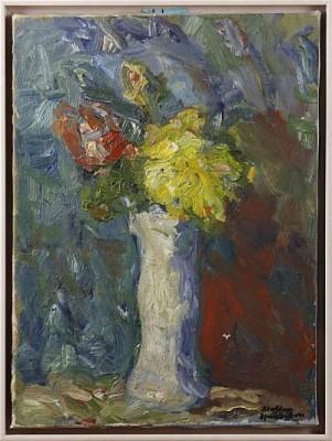 Blommor I Va by Staffan HALLSTRÖM