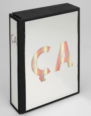 """ca"", Box Med Spegelglas by Enrico BAJ"