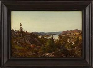 Landskap by Alfred WAHLBERG