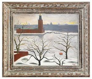 Utsikt Mot Stadshuset - Stockholm by Einar JOLIN