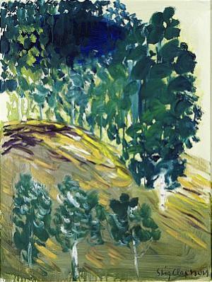 Träd På Kulle by Stig 'Slas' CLAESSON