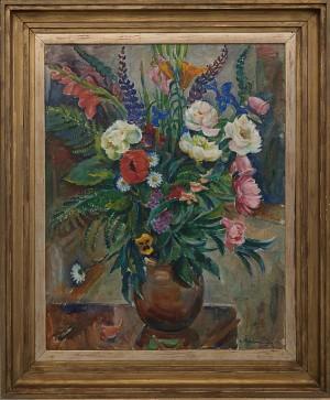 Blomsterstilleben by Henning MALMSTRÖM