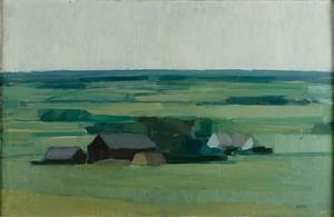Landskap by Gustav ARNE