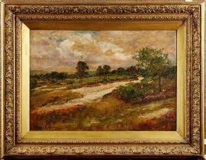 Landskap Med Vattendrag by Henry John YEEND KING