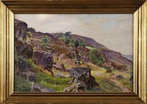 Motiv Från Kullaberg by Viggo PEDERSEN