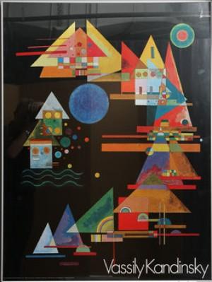 Spitzen Im Bogen, Utställningsaffisch by Wassily KANDINSKY