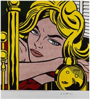 Blonde Waiting by Roy LICHTENSTEIN