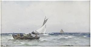 Båtliv Vid Kusten by Anna PALM DE ROSA