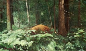 Skogslandskap by Andrei Nikolaievich SCHILDER