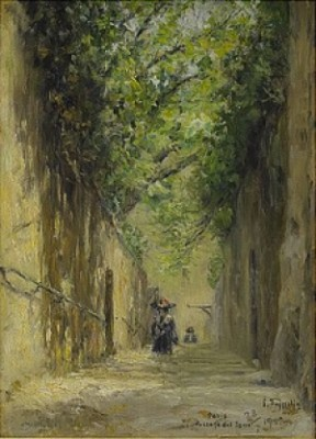 Passage Des Eaux by Erik TRYGGELIN